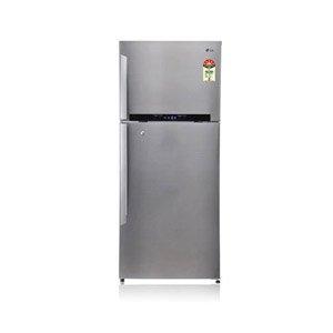 LG 420L 5 Star GL-478GSX5 Double Door Refrigerator-Stainless Steel