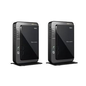 【クリックで詳細表示】NEC Aterm WR9500N[HPモデル] イーサネットコンバータセット PA-WR9500N-HP/E: パソコン・周辺機器