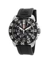 Luminox Men's 3181 Steel Colormark Black Silicone Watch