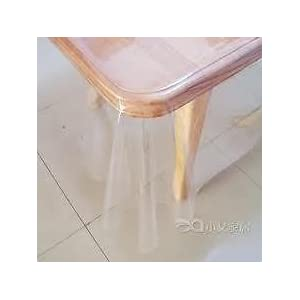 Big Boss Transparent Table cloth Protector for Dining Table (6 Persons)