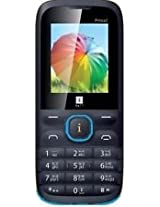 iBall Prince 2 Dual Sim Mobile Phone (Black - Blue)