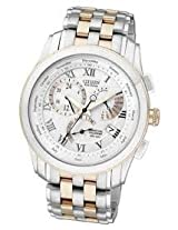 Citizen Eco-Drive Analog White Dial Men's Watch - BL8104-59A