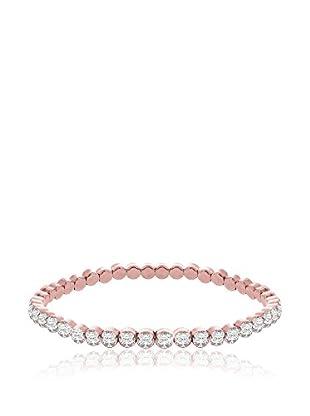 Diamond Style Armband Rose Tennis