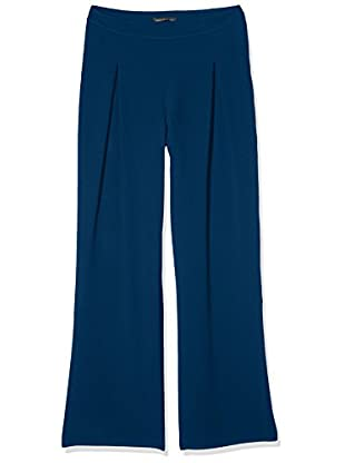 Anna Cristy 5118, Pantaloni Donna, Blu (Ottanio), W37 (Taglia Produttore:42)