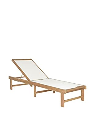 Safavieh Manteca Lounge Chair, Teak Brown