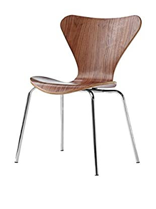 Manhattan Living Jays Dining Chair, Walnut