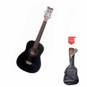 Granada PRS9 Acoustic Guitar for Kids with Bag (Black) - GR5VDB3Z1T