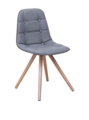 Basic Home Stuhl 4 tlg. Set Edera B18 grau