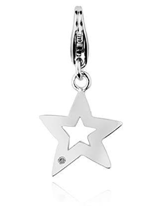 Secret Diamonds Charm Estrella Plata 925 Diamante
