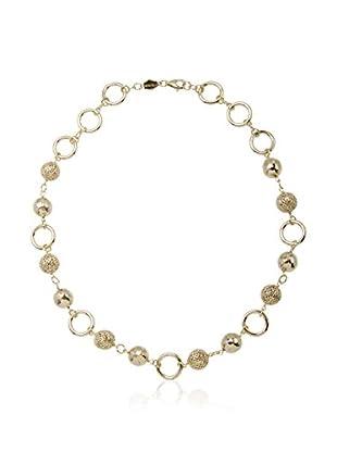 ETRUSCA Halskette 51 cm silberfarben