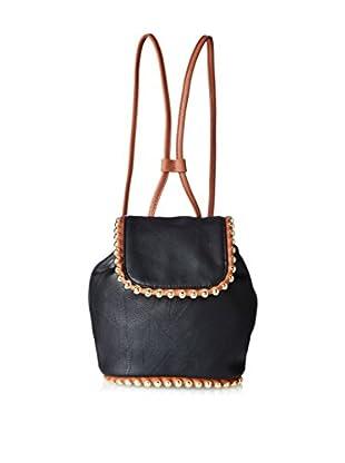 Big Buddha Women's Capella Ball Edge Mini Backpack, Black