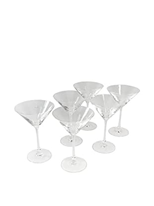 Set of 6 Divino By Rosenthal Martini Glasses, Glass