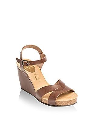 Uma Sandalo Zeppa Flor