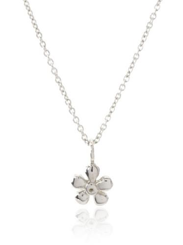 Catherine Angiel Flower Pendant Necklace
