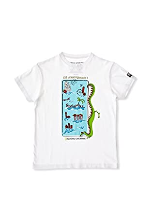 National Geographic Camiseta Manga Corta Singapore