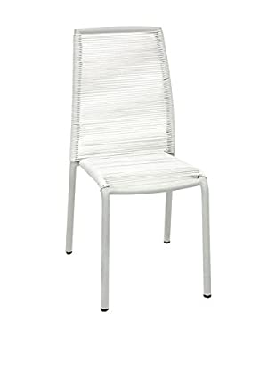 Contemporary Black & White Set Silla 2 Uds. Kely Blanco