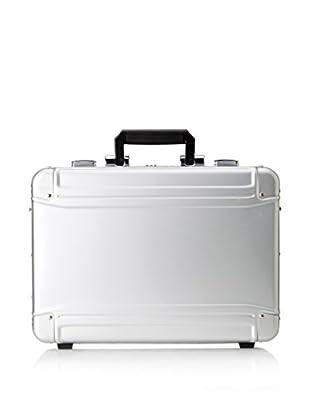 Zero Halliburton Geo Aluminum Large Laptop Case, Silver
