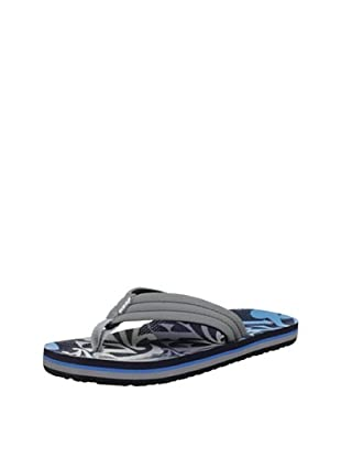 Reef Chanclas Surfers Are Friends (Gris/Azul/Negro)