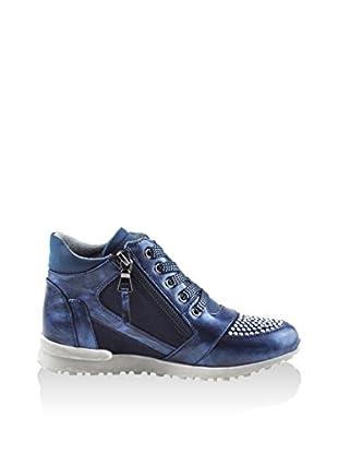 Chetto Sneaker Alta Line Carla Blu EU 37