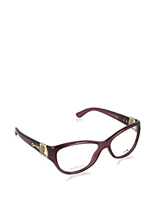 Gucci Gestell 37140D054 (54 mm) bordeaux