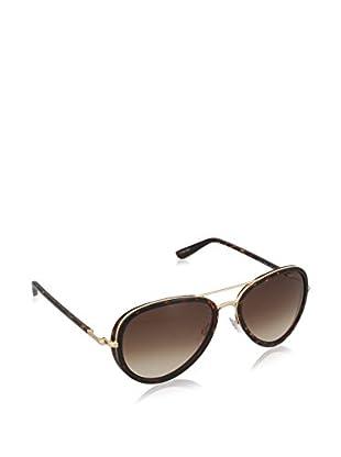 Tom Ford Gafas de Sol FT0341 MET 140_28K (55 mm) Havana / Dorado