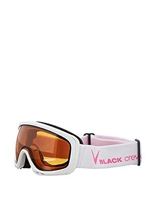 Black Crevice Skibrille weiß/rosa