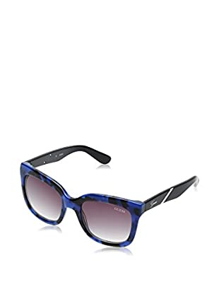 Guess Sonnenbrille GU7342 53D79 (53 mm) blau/schwarz