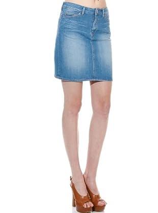 Guess Falda (azul claro)