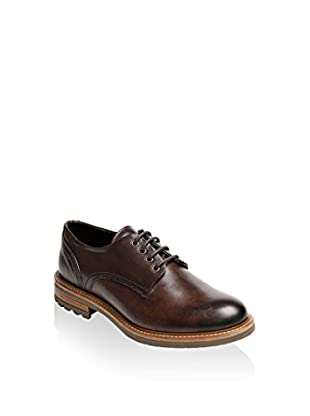 BRITISH PASSPORT Derby Plain Derby Dark Brown