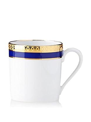 Haviland Symphony 2.9-Oz. Espresso Cup, Gold/Blue