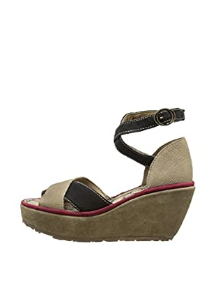 Fly London Sandalias Pami (Beige)
