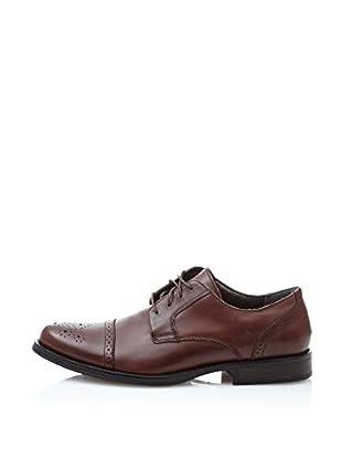 Dockers Zapatos Oxford Tuscany (Marrón Oscuro)
