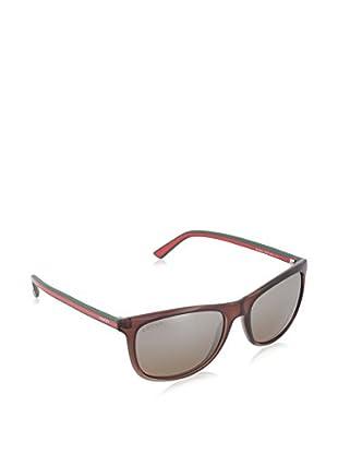 Gucci Sonnenbrille 1055/S 36 86V (55 mm) braun/grün 55-17-145