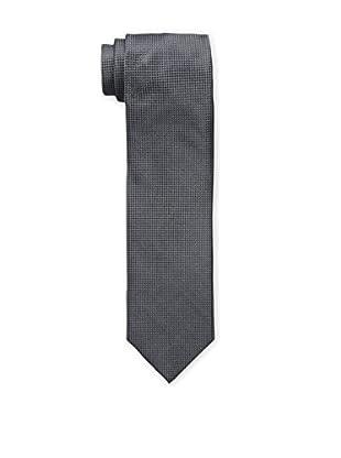 Bruno Piattelli Men's Solid Tie, Charcoal