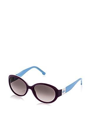Lacoste Sonnenbrille L509S (55 mm) lila/himmelblau