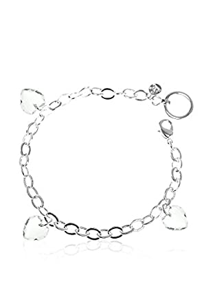 So Charm with Crystals from Swarovski Pulsera  Plateado