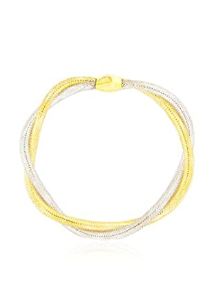 GOLD & DIAMONDS Pulsera oro bicolor 18 ct