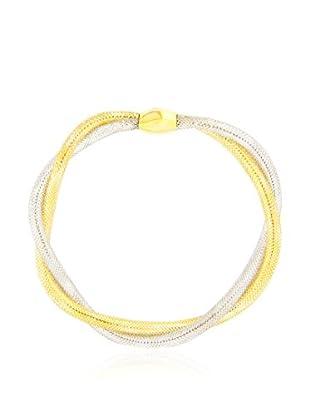 GOLD & DIAMONDS Braccialetto oro bicolore 18 Kt
