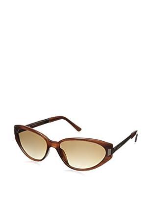 Escada Women's SES229M Sunglasses, Brown/Pink