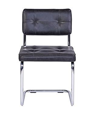 Unico Stuhl 2er Set Ruby schwarz