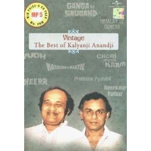 Vintage-The Best Of Kalyanji Anandji