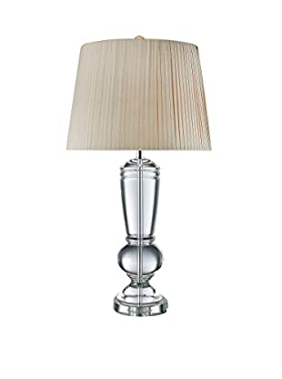 Artistic Lighting Table Lamp, Clear Crystal