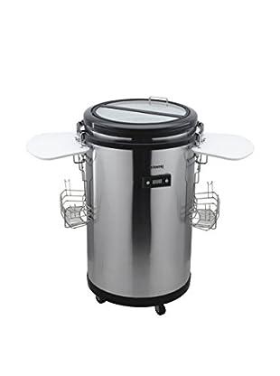 H.koenig Kühlschrank BPO505 stahl