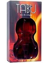 Tabu By Dana Eau De Cologne Spray 88.72 ml (violin Bottle)