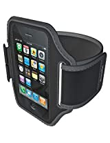 Imation Sportwrap Armband Case for iPod touch 2G, 3G,iPhone 3G, 3Gs -Black