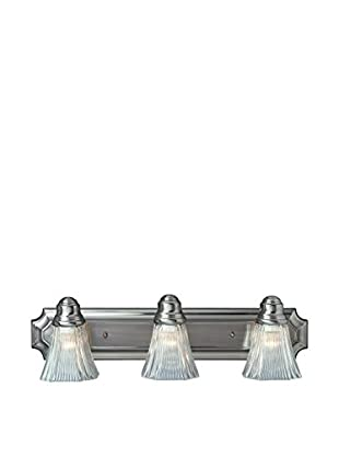 Bel Air Lighting Argenta 3-Light Bath Bar, Rubbed Oil Bronze