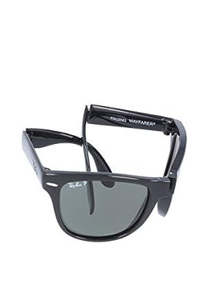 RAY BAN Sonnenbrille FOLDING WAYFARER MOD. 4105 schwarz