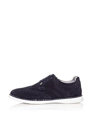 Star Jaguar Zapatos Derby Contrast (Azul Marino)