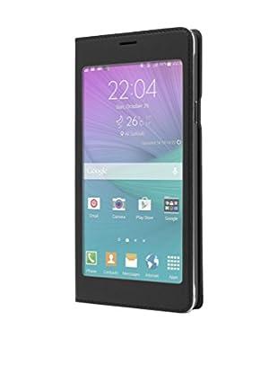 Unotec Funda Flip-S Samsung Galaxy Note 4 Negro