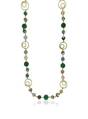 ETRUSCA Halskette  grün